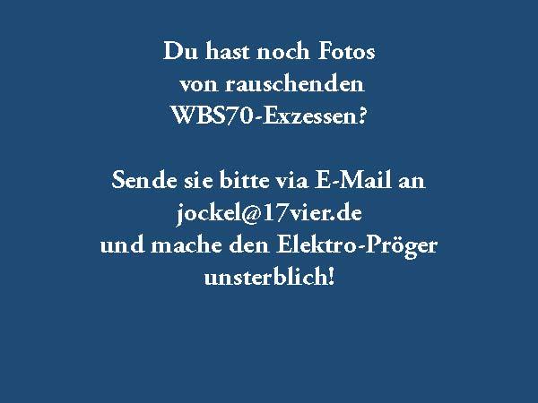 Aufruf: Schickt WBS70-Bilder ein!