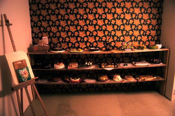 ...und im Ausstellungsraum der Alten Bäckerei präsentiert.