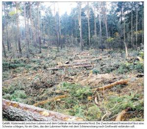 Baubeginn und Baumende in Lubmin