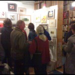 vernissage im antiquariat rose