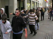 flashmob in Zürich